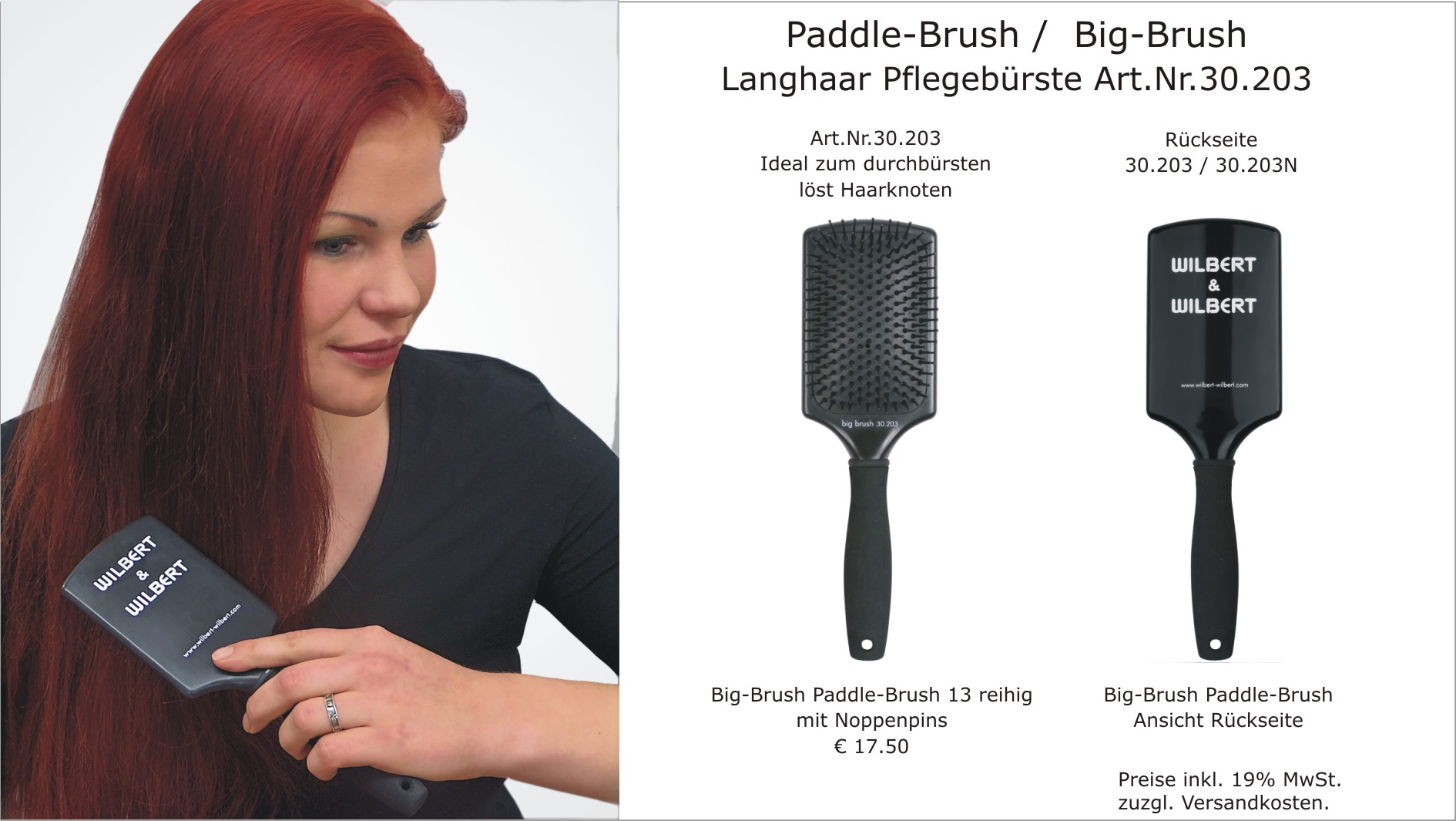 Paddle Brush / Big Brush - Art.Nr.:30.203